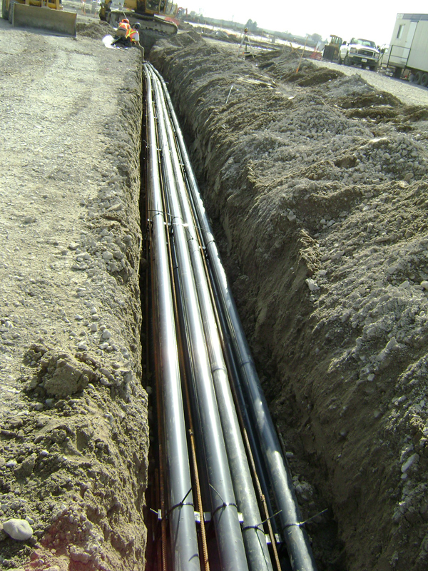 High Voltage Underground Cable Installation : B g high voltage systems limited